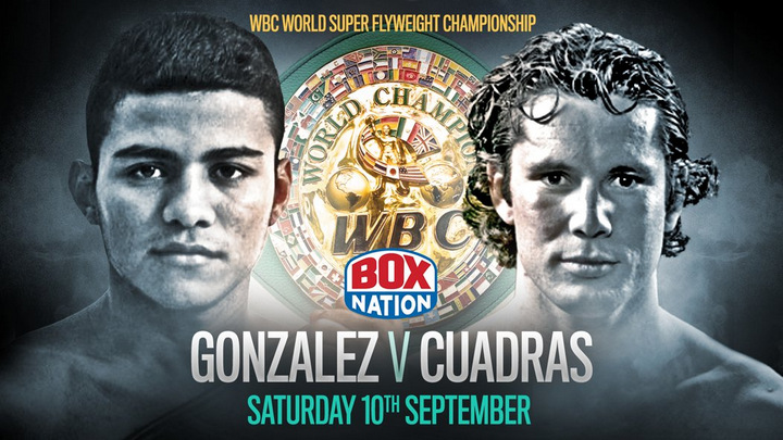 Roman Gonzalez - BoxNation subscribers are set to enjoy a blockbuster next few weeks starting with pound-for-pound king Roman Gonzalez who moves up in weight to take on undefeated knockout artist and WBC super-flyweight world champion Carlos Cuadras.