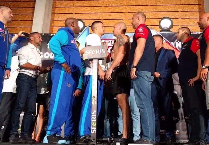 Krzysztof Glowacki Oleksandr Usyk Boxing News Top Stories Boxing