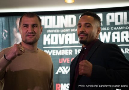 Andre Ward v Sergey Kovalev Preview