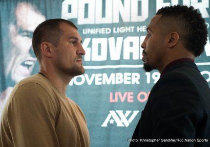 Kovalev vs. Ward full undercard