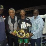 Duke Micah - One of Ghana's brightest world championship prospects, Duke Micah has edged closer to getting a shot at the WBO world title held by Zolani Tete of South Africa after moving three places up to fourth in the latest bantamweight rankings for May released by the WBO.