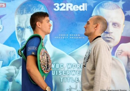 Luke Campbell – Derry Mathews  in Liverpool on Saturday