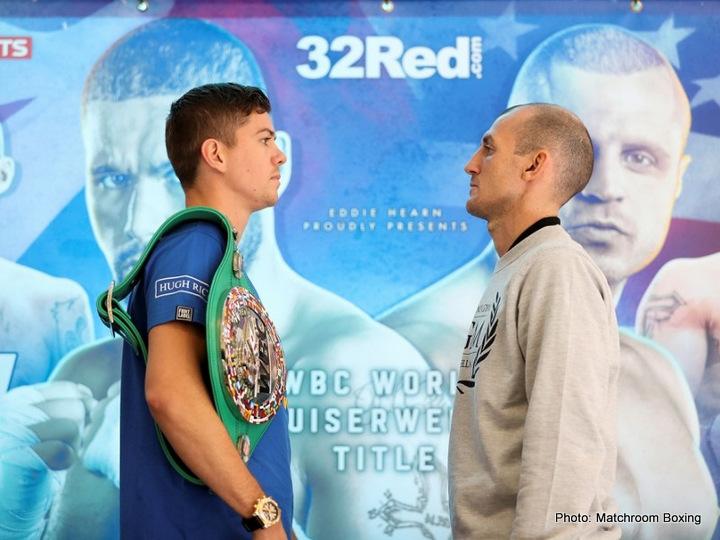 Derry Mathews Luke Campbell Boxing News British Boxing