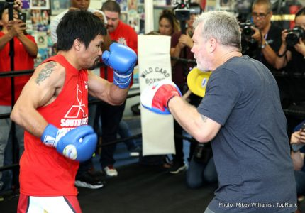Pacquiao vs Vargas live on BoxNation