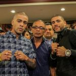 """Juan Manuel Lopez - This Saturday night's grudge match between Puerto Rican former world champions Wilfredo """"Papito"""" Vázquez, Jr and Juan Manuel """"JuanMa"""" López is no hype job.  Plain and simple, they really dislike each other immensely and both have predicted knockouts in their 12-round Special Attraction showdown, contested at a 129-pound catch-weight, which will air live on pay per view from Roberto Clemente Coliseum in San Juan, Puerto Rico."""