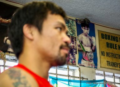 Jessie Vargas Manny Pacquiao Boxing News British Boxing