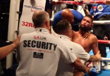 Tony Bellew: The last time Haye took a heavy shot was against Monte Barrett and he got put on the floor