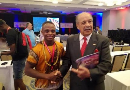Isaac Dogboe named WBO African boxer of the year