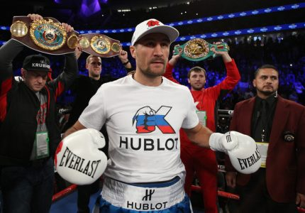 """Sergey Kovalev insults Andre Ward in rematch call-out: """"Are you a man or a girl!"""""""