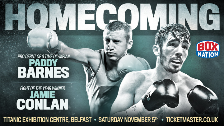 Jamie Conlan - Belfast's Jamie Conlan (17-0 11KOs) will warm-up for his vital WBO World title final eliminator with a must win eight round International Super-Flyweight contest against Hungary's David Koos (8-2-1 2KOs) this Saturday at the Belfast Titanic Exhibition Centre, live and exclusive on BoxNation.