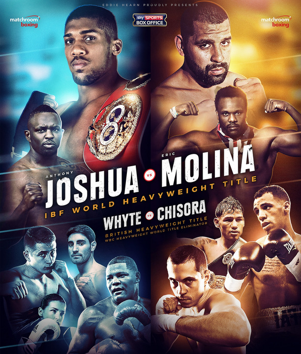 Anthony Joshua Eric Molina Boxing News British Boxing
