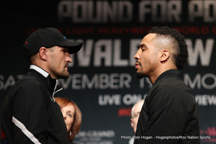 Kovalev vs. Ward Press Conference