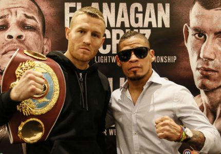 Orlando Cruz vows To Defeat Flanagan To Become Boxing's First Openly Gay World Champion