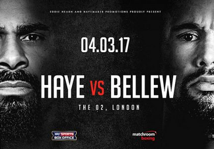 Haye v Bellew – Beauty and the Beast