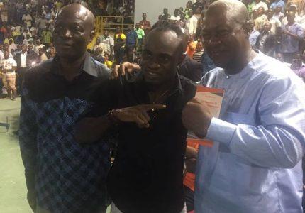 President Mahama demands Tagoe to stop Saucedo in round 3