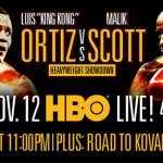 Malik Scott - Cuban heavyweight contender Luis Ortiz, by his own admission, and that of his promoter, was dissatisfied with the decision victory he pounded out over Malik Scott last night in Monaco. Ortiz, who won via lopsided scores on the three cards, blamed Scott's negative tactics for the dull encounter. Ortiz wanted a showcase in his Matchroom debut but it failed to materialise.