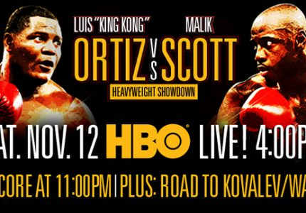 "Disappointment over Ortiz-Scott, Hearn says he will find ""someone who will come to win"" for Dec 10 return"