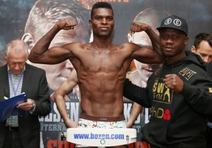 Commey wants fans in Russia to support him against Shafikov