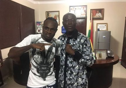 Sports Minster, Ga Traditional Council back Tagoe to win IBO title