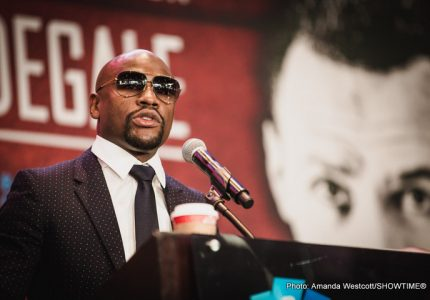 Floyd Mayweather boxing Conor McGregor moves from crazy possibility to tentative exploration