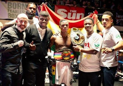 Duke Micah is new Commonwealth Bantamweight champ