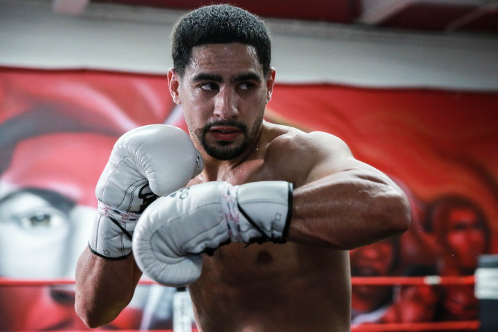 """Danny Garcia, Samuel Vargas - Undefeated world champion Danny """"Swift"""" Garcia held a media workout at his gym in Philadelphia on Tuesday as he prepares for his Premier Boxing Champions on Spike showdown with Colombia's Samuel Vargas taking place Saturday, November 12 from Temple University's Liacouras Center in Philadelphia."""
