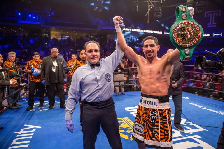 Danny Garcia Samuel Vargas Boxing News Boxing Results