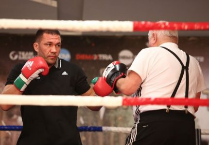 Pulev vs. Peter public workout – quotes and pictures