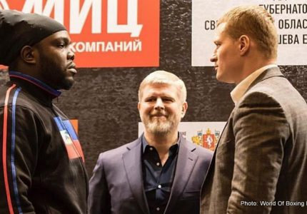 Povetkin-Stiverne fight in serious jeopardy as Povetkin fails (another) drugs test