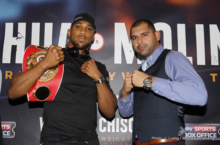 Joshua-Molina, Crawford-Molina, Parker-Ruiz – Three big fight prediction for this weekend