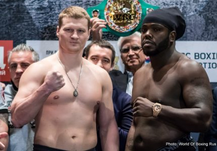 Watch: Povetkin vs Stiverne: Weigh-In Video