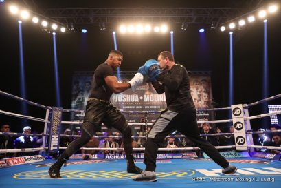 Anthony Joshua Eric Molina Boxing News