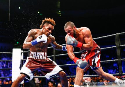 Jermall Charlo moving up to 160, vacates IBF 154lb title
