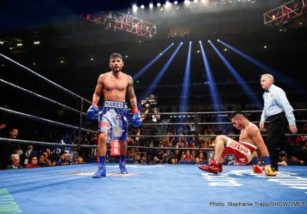 Results: Mares beats Cuellar, wins WBA title