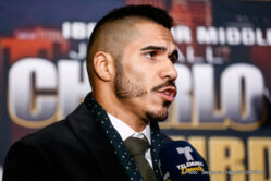 Abner Mares, Jesus Cuellar - Featherweights lay it all on the line as three-weight division champion Abner Mares challenges 126-pound titleholder Jesus Cuellar, broadcasted live from the Galen Center in southern California, on Showtime. Abner finds himself in a make-or-break situation for the first time of an impressive career. Cuellar gets a chance to put a stamp on the resume and raise his profile significantly ensuring even bigger fights at featherweight or junior lightweight in the near future.