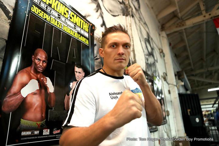 Murat Gassiev Oleksandr Usyk Boxing News