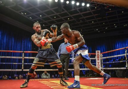 Ashley Theophane Defeats Yakabu Amidu By Unanimous Decision