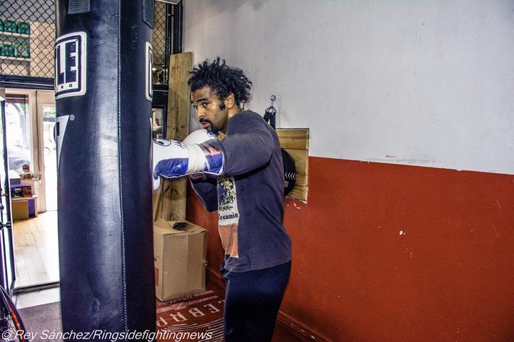 David Haye British Boxing Press Room
