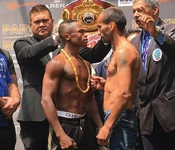 Dogboe, Aristule make weight for WBO title fight in New Zealand