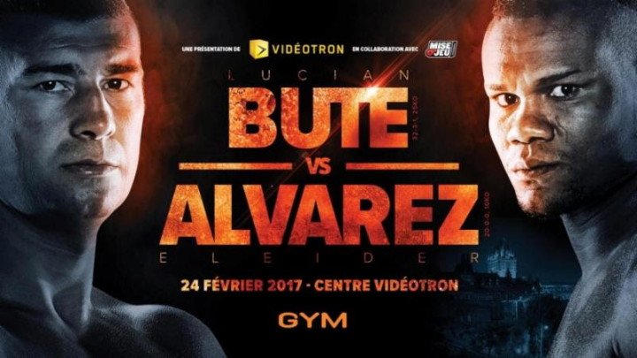 "Eleider Alvarez - Group Yvon Michel (GYM) and Gestev are very happy to confirm the Clash of Titans mega-event as former International Boxing Federation (IBF) super middleweight world champion Lucian Bute (32-3-1, 25 KOs) will face World Boxing Council (WBC) Silver light heavyweight champion Eleider ""Storm"" Alvarez (20-0, 10 KOs), Friday, February 24, in a 12-round light heavyweight bout at Vidéotron Centre of Québec City."