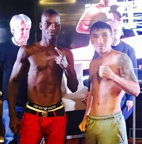 Commey, Shafikov make weight for IBF title eliminator