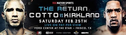 Miguel Cotto vs. James Kirkland fight cancelled