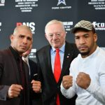 """James Kirkland - On Monday, December 19, 2016, Five-Time World Champion Miguel Cotto (40-5, 33 KOs) and James """"Mandingo Warrior"""" Kirkland (32-2, 28 KOs) participated in an official press conference to kick off the announcement of their February 25 showdown at Ford Center at The Star in Frisco, Texas. Dubbed as """"The Return"""", the anticipated bout is a 12-round junior middleweight contest. The event will be produced and distributed live by HBO Pay-Per-View® beginning at 9:00 p.m. ET/6:00 p.m. PT."""