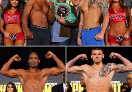 Weights: Hopkins 174, Smith 175 – Photo Gallery