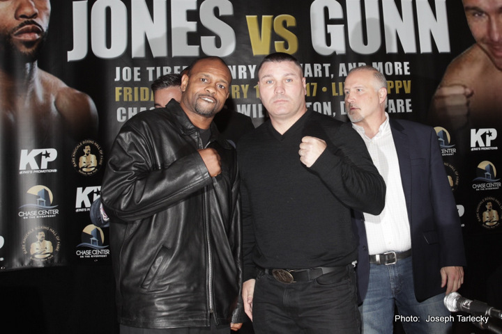 """Bobby Gunn to Roy Jones, Jr """"He will know that he was in a fight and he will remember me for the rest of his life"""""""