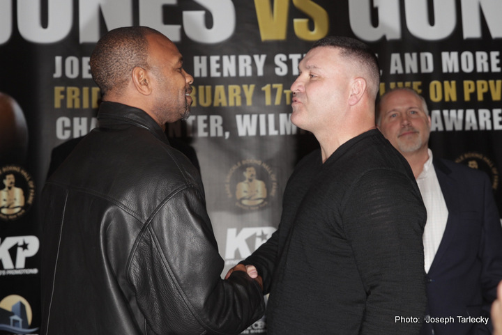 Bobby Gunn Roy Jones Jr. Boxing News