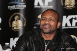 Bobby Gunn, Roy Jones Jr. - Below are quotes and the video from Tuesday's press conference announcing the legendary Roy Jones, Jr. taking on Bobby Gunn for the WBF Cruiserweight title.