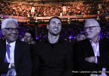 Wladimir Klitschko: I do have a lot of weapons