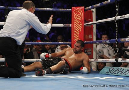Results: Anthony Joshua slaughters Molina