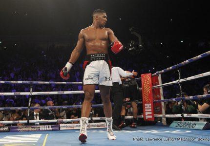 "Anthony Joshua ready for ""Defining Fight"" versus Wladimir Klitschko"